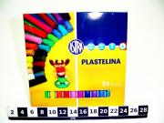 PLASTELINA 24 KOL. ASTRA 0651