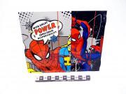 TECZKA Z GUMKA A4 SPIDERMAN 0225