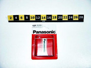 BAT. PANASONIC 3R12R 1P