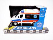 AUTO AMBULANS SW+POLSKI DZWIEK 0097