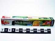 FOLIA DO ZYWNOS.20M KART.0120